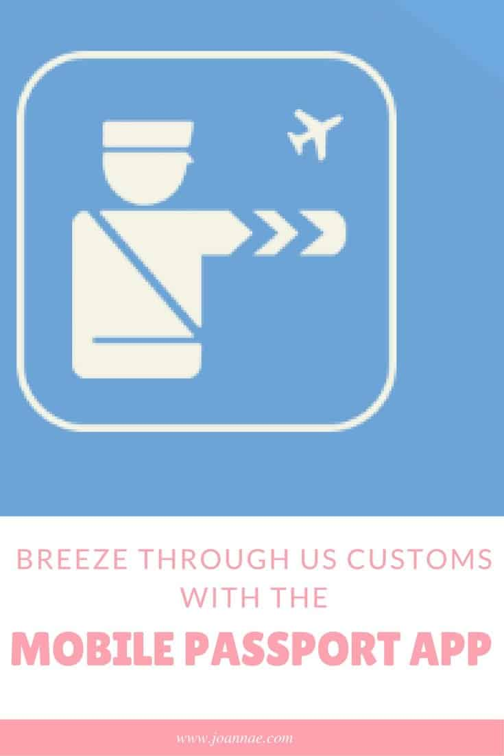 Breeze Through US Customs with the Mobile Passport App